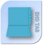 End Tab File Folders & Patient Charts