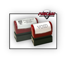 Rubber Stamps - Auto