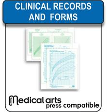 Medical Arts Press compatible clinical records and forms