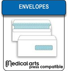 Medical Arts Press compatible envelopes