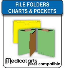 Medical Arts Press compatible file folders charts and pockets